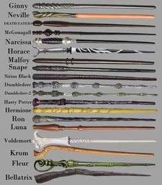 I like all but LOVE Ginny and McGonagall's