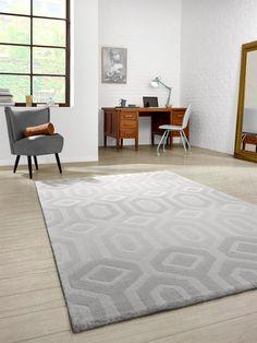 GroBartig Skandinavisches Design In Dezenten Grautönen: Benuta Teppich Opus Illusion  #benuta #teppich #interior