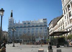 Central Madrid near Puerta del Sol - Madrid, Spain