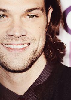 That smile <3 #JaredPadalecki