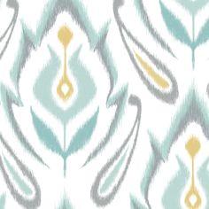Soft Ikat fabric by pattysloniger on Spoonflower - custom fabric