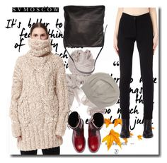 """""""SVMOSCOW"""" by newoutfit ❤ liked on Polyvore featuring Ann Demeulemeester"""