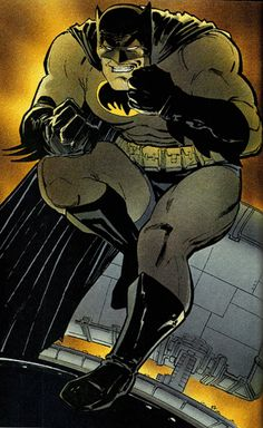 Batman by Frank Miller #dccomics #comics #batman