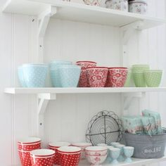 Red and Turquoise Kitchen Accents