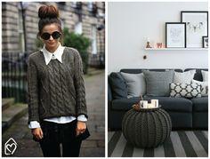 Tricô e crochê: fashion x decor!