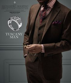 Tuscany Man Collection by MariaCristinaSterling
