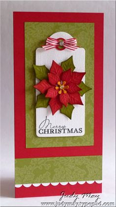 Bilderesultat for Spellbinders layered pointsettia + cards Homemade Christmas Cards, Merry Christmas Card, Christmas Scrapbook, Christmas Cards To Make, Xmas Cards, Handmade Christmas, Homemade Cards, Christmas Greetings, Holiday Cards