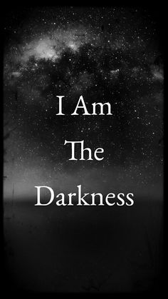 """Darkness"" ( Selfmade Wallpaper )"