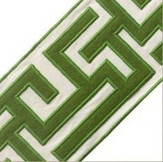 samuel and sons passementerie greek fret embroidered border. Living Room Upholstery, Upholstery Nails, Upholstery Cleaner, Furniture Upholstery, Upholstery Foam, Aqua, Rhodes, First Apartment Tips, Curtain Trim
