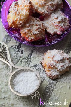 Różowa Patera: Kokosanki Sweet Tooth, Bakery, Deserts, Brunch, Food And Drink, Cooking Recipes, Sweets, Cookies, Breakfast