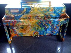 1000 images about Painted Pianos on Pinterest