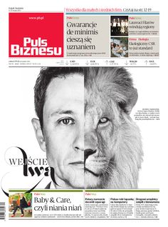 Puls Biznesu Polish Business Newspaper 17-05-2013 Art Director Tomasz Młynarski