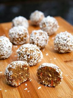 No-Bake Carrot Cake Protein Balls - 17 Beneficial Protein Bites for Weight Loss