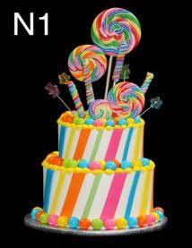 Another Rainbow Birthday Cake