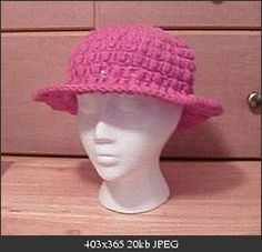 Perky Puffs Hat