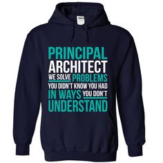 PRINCIPAL ARCHITECT We Solve Problems You Didn't Know You Had T-Shirts, Hoodies…