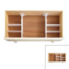 Real Simple® 6 Piece Adjustable Drawer Organizer