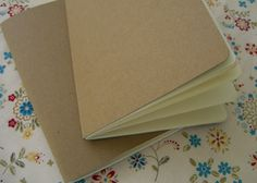 DIY Cereal Box Journal Looks Great, Costs Little: have kidlets decorate the cover too!