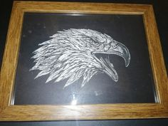 Moose Art, Glass, Frame, Animals, Decor, Etchings, Picture Frame, Animales, Decoration