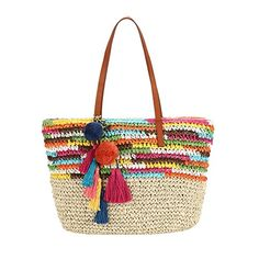 3158338750 Amazon.com  Large Summer Beach Bag with inner pouch By Daisy Rose
