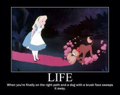 This is the reason Alice in Wonderland is my least favourite Disney classic. I cried watching this scene as a child Disney Love, Disney Magic, Disney Dream, Disney Stuff, Disney And Dreamworks, Disney Pixar, Funny Disney, Disney Memes, Disney Art
