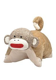Sock Monkey Pillow Buddy - I love this for victoria! ec9a1105e5e00