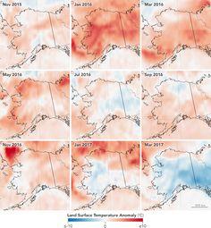 March Breaks Alaska's Hot Streak