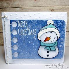 http://gerdasteinerdesigns.blogspot.com/2015/10/merry-christmas-snowman.html