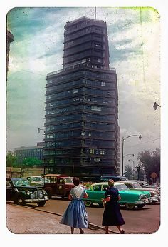 Mexico City 1952: Learn more about Mexico, its business, culture and food by joining ANZMEX http://www.anzmex.org.au OR like our facebook page http://www.facebook.com/ANZMEX