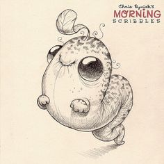 Quailworm has good balance. #morningscribbles | Flickr - Photo Sharing!
