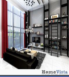 Home Id, Living Room Designs, Shelving, Loft, Design Ideas, Furniture, Home Decor, Shelves, Decoration Home