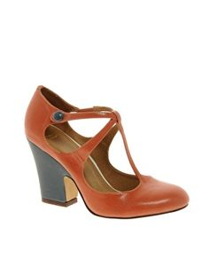 Like 'em so much I'll have both colours! ASOS PEBBLE Heeled Shoes