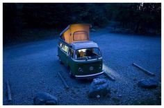 Model: VW Westfalia 1978   South Alpes, France, 2010   photo by Damien Guichard