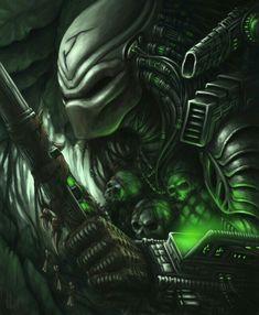 ɛïɜ Tittle: Predator by Lord_Lambert ɛïɜ Alien Vs Predator, Predator Movie, Predator Alien, Predator Series, Wolf Predator, Science Fiction, Alien Drawings, Alien Races, Classic Monsters