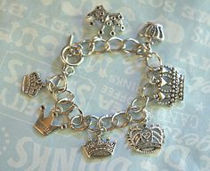 crown charm bracelet