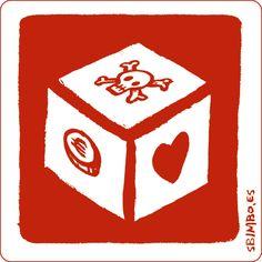 Sergio Sbimbo  #threefivefifty #05 #sticker #3550 #design #red Stickers, Red, Design, Decals