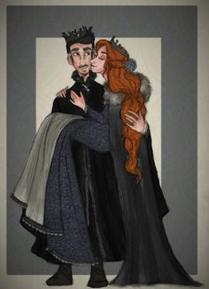 Petyr Baelish and Sansa Stark by flybynite19.