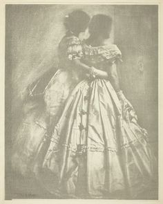 Gertrude Käsebier  American, 1852–1934    The Silhouette (The Gerson Sisters), c. 1906    Gum bichromate print - Art Institute of Chicago