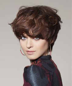 Tchip Coiffure Short Brown Hairstyles