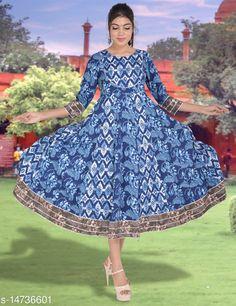 Kurtis & Kurtas SS SANGANERI Printed Rayon Kurti Fabric: Rayon Sleeve Length: Three-Quarter Sleeves Pattern: Printed Combo of: Single Sizes: S (Bust Size: 36 in, Size Length: 50 in)  XL (Bust Size: 42 in, Size Length: 50 in)  L (Bust Size: 40 in, Size Length: 50 in)  M (Bust Size: 38 in, Size Length: 50 in)  Country of Origin: India Sizes Available: S, M, L, XL   Catalog Rating: ★4.3 (644)  Catalog Name: Chitrarekha Voguish Kurtis CatalogID_2925177 C74-SC1001 Code: 307-14736601-8091
