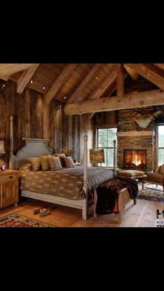 This fireplace!