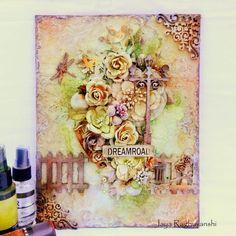 Scrap Around The World: February 2015 Challenge 22A Romantic & Ethereal Mood Board by Tatiana Sidorenko!