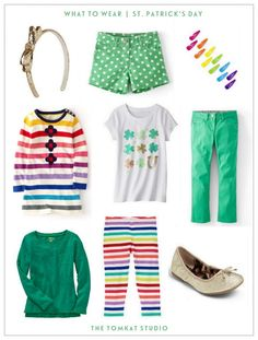 What to Wear :: St. Patty's Day for Girls