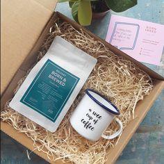 Wee Coffee Box – Born & Bred Coffee Box, Coffee Cups, Gift Sets, Brewing, Dishwasher, Cream, Mugs, Studio, Face