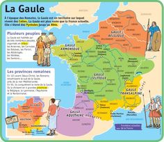 Fiche exposés : La Gaule Plus Ap French, French History, European History, Learn French, French Teaching Resources, Teaching French, Gaule Romaine, Teaching Culture, French Practice