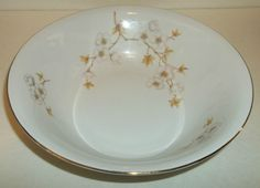 China Soup Or Salad Bowl Apple Blossom Winterling Bavaria Germany EUC #WinterlingBavariaGermany