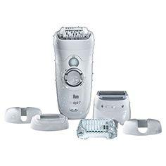 Braun Silk-�pil 7 7-561 Legs & Body kabelloser Wet & Dry Epilierer mit 6 Extras (inklusive Rasierer- & Trimmeraufsatz)