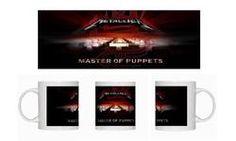Metallica (Master of Puppets) - Ceramic Coffee Mug