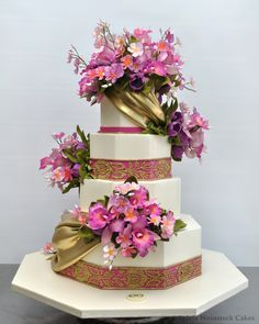 lovely wedding cake by Sylvia Weinstock Cakes