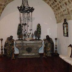 altare e santi XVII